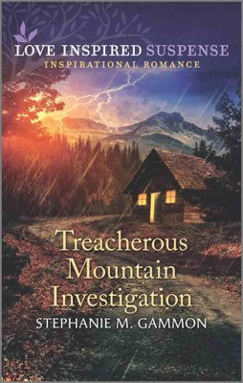 Treacherous Mountain Investigation (Love Inspired Suspense Series) Mass Market