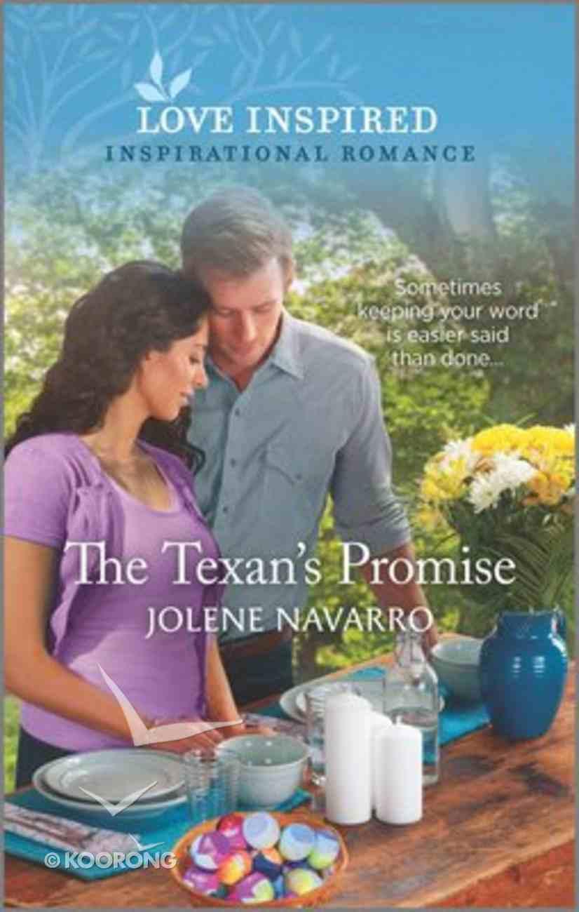 The Texan's Promise (Cowboys of Diamondback Ranch) (Love Inspired Series) Mass Market