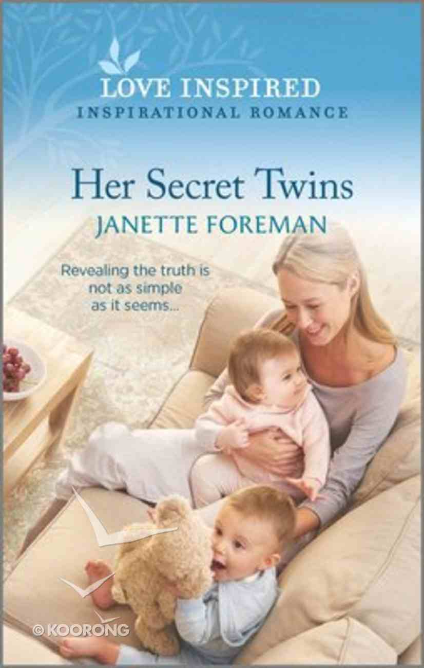 Her Secret Twins (Love Inspired Series) Mass Market