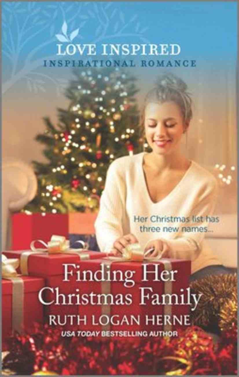 Finding Her Christmas Family (Golden Grove) (Love Inspired Series) Mass Market