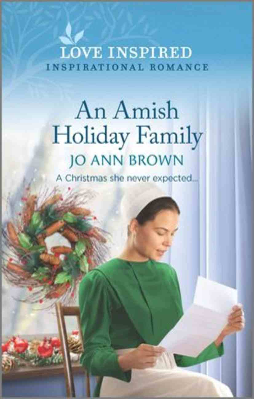 An Amish Holiday Family (Green Mountain Blessings) (Love Inspired Series) Mass Market