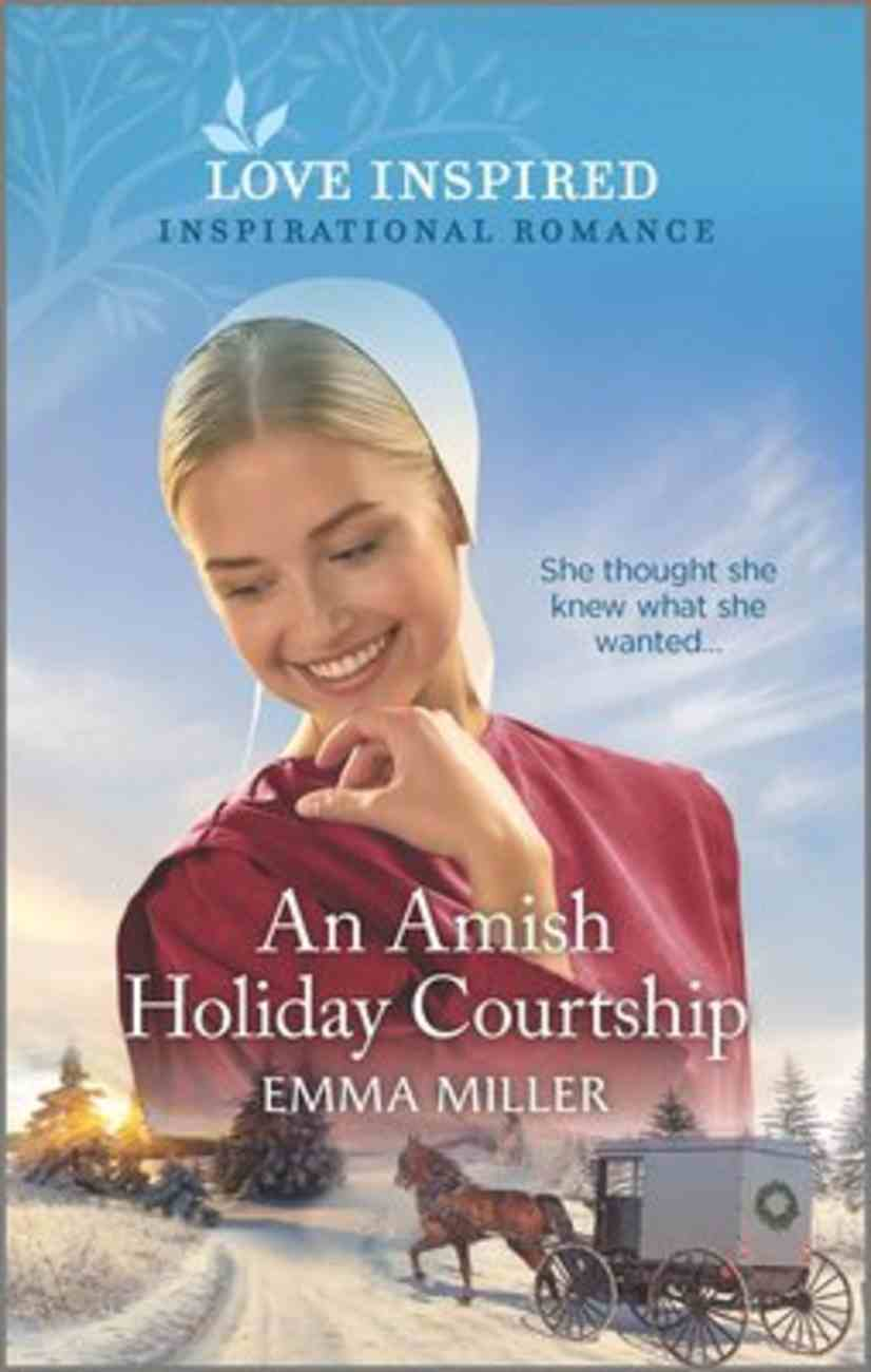An Amish Holiday Courtship (Love Inspired Series) Mass Market
