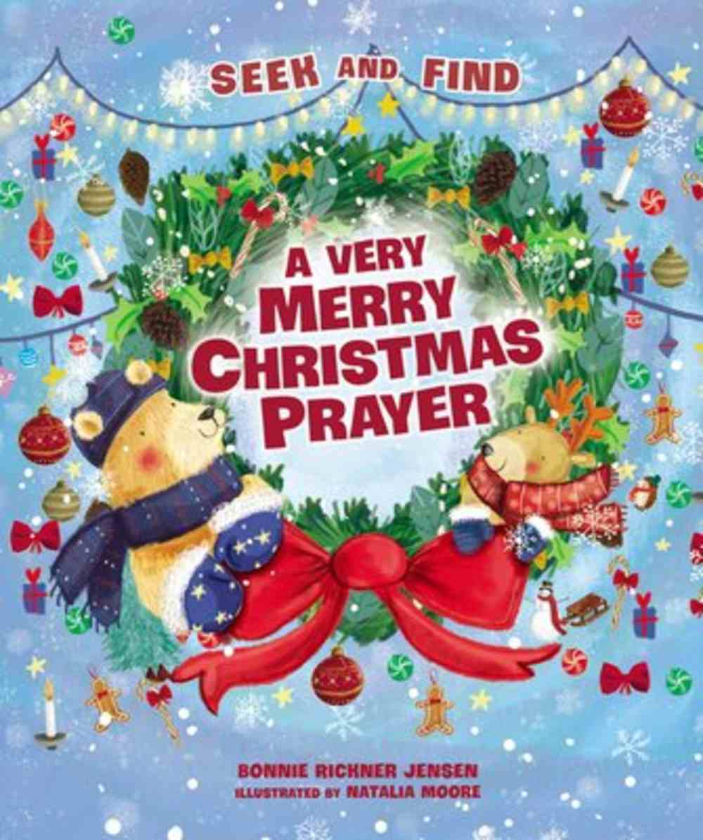 A Very Merry Christmas Prayer Seek and Find Board Book