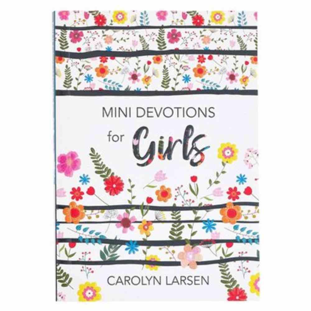 Mini Devotions For Girls (Mini Devotions Series) Paperback