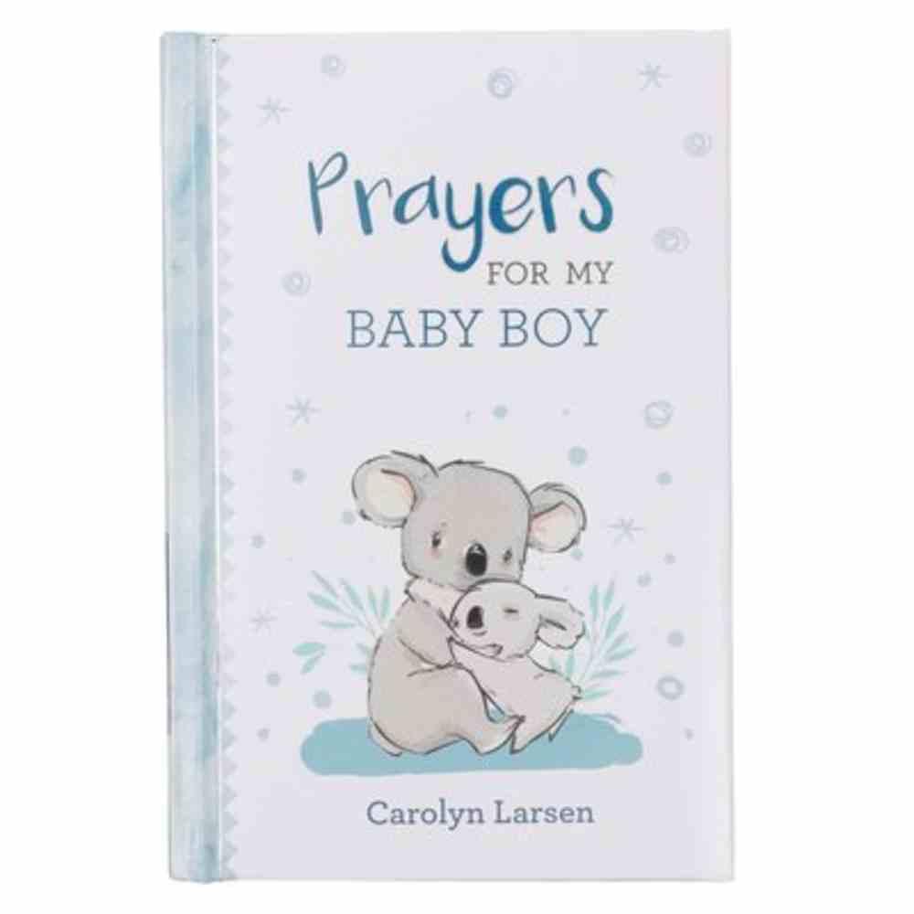 Prayers For My Baby Boy Padded Hardback