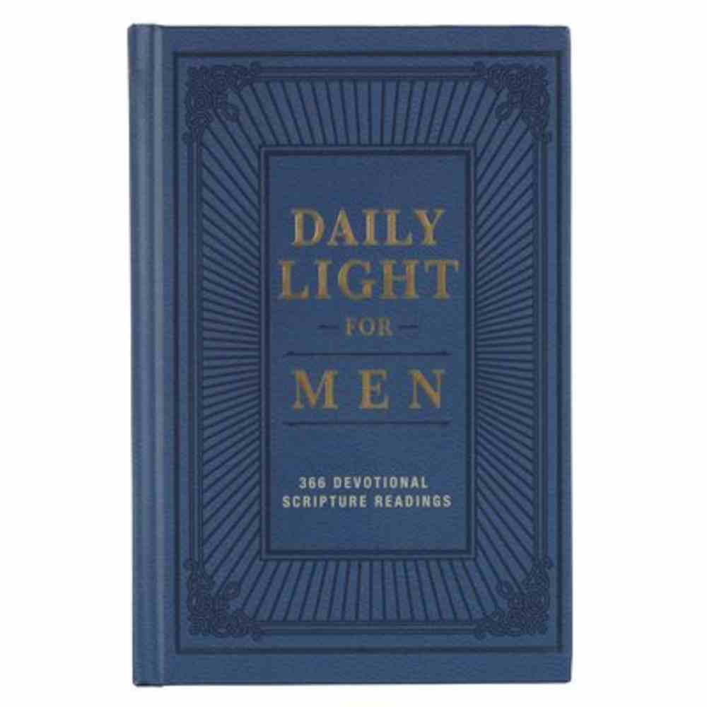 Daily Light For Men, Blue (Esv) Hardback