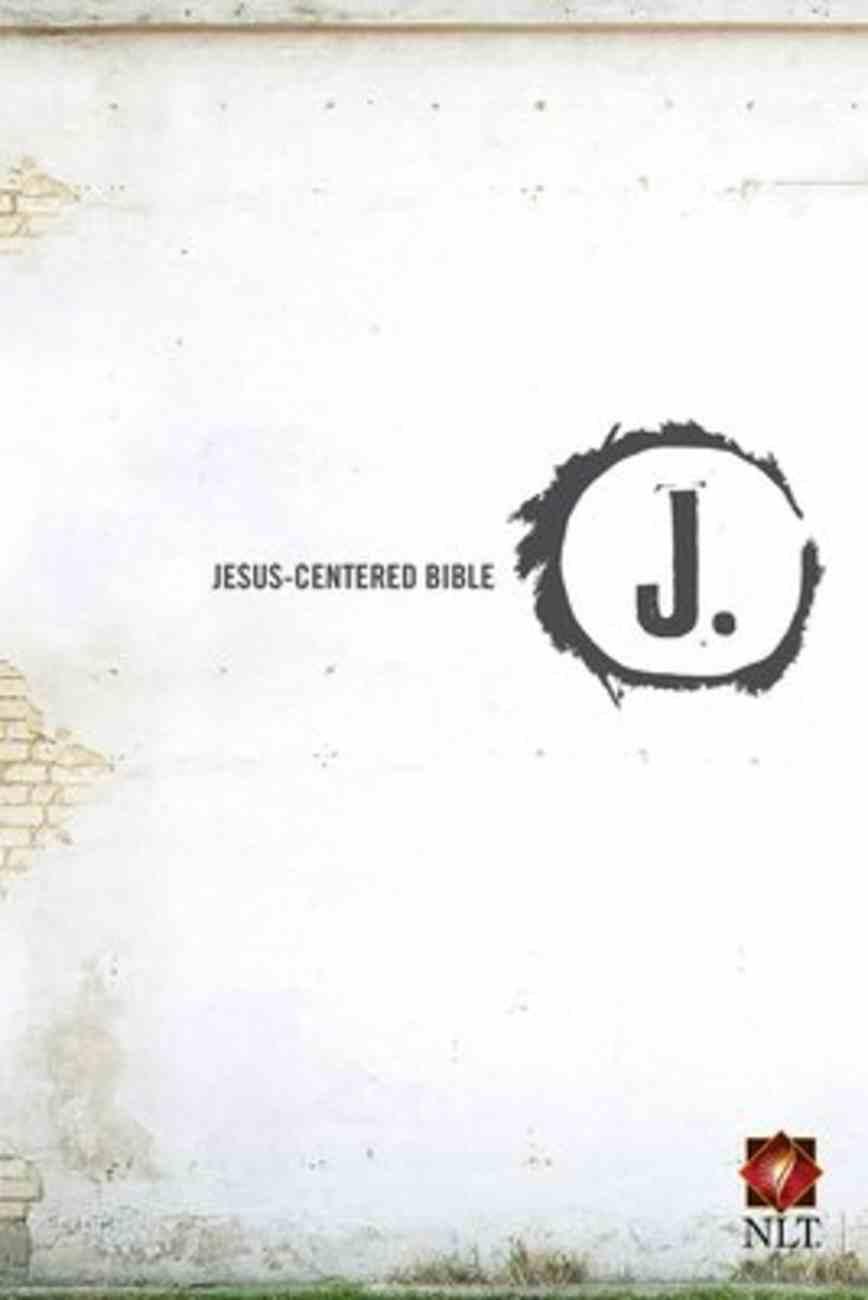 NLT Jesus Centered Bible Hardback