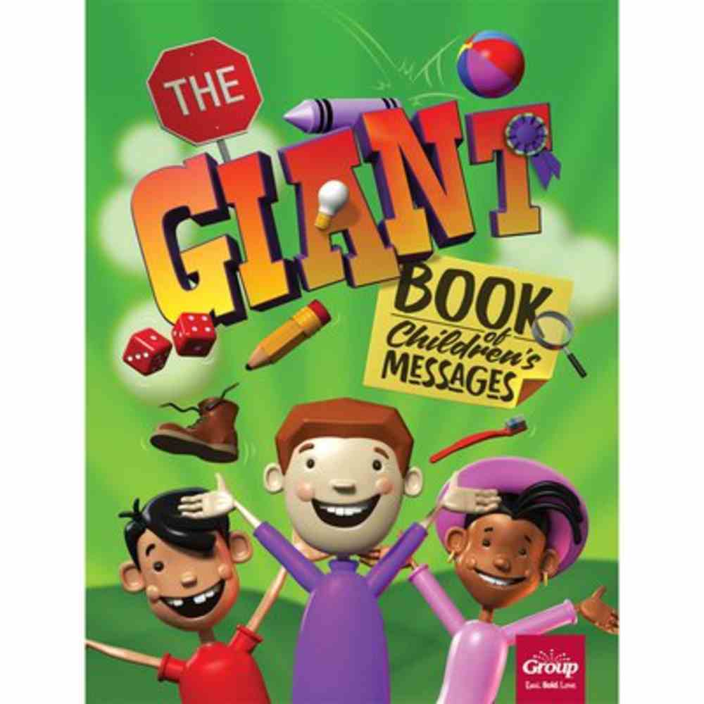 The Giant Book of Children's Messages Paperback