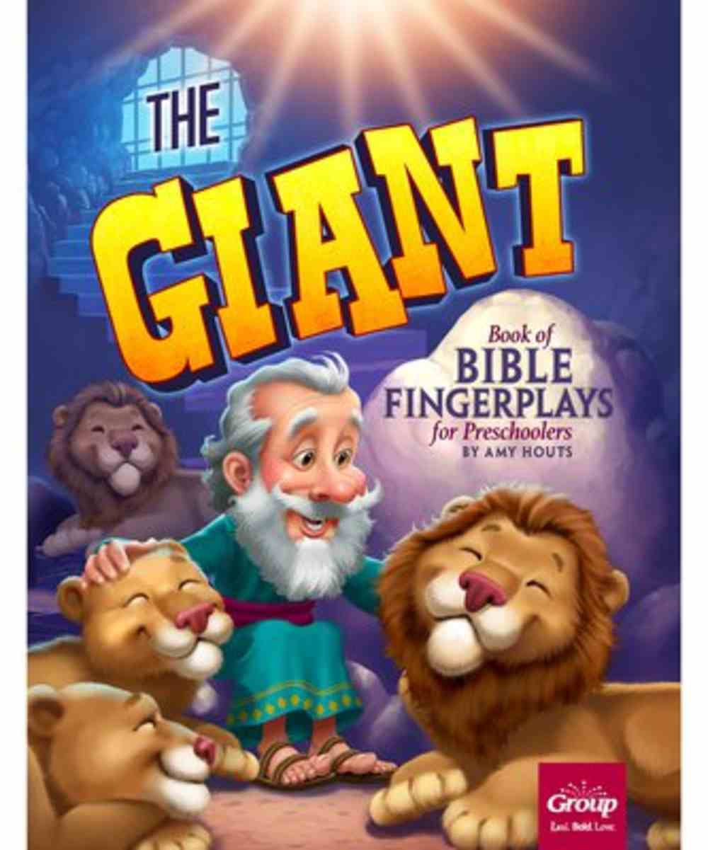 The Giant Book of Bible Fingerplays For Preschoolers Paperback