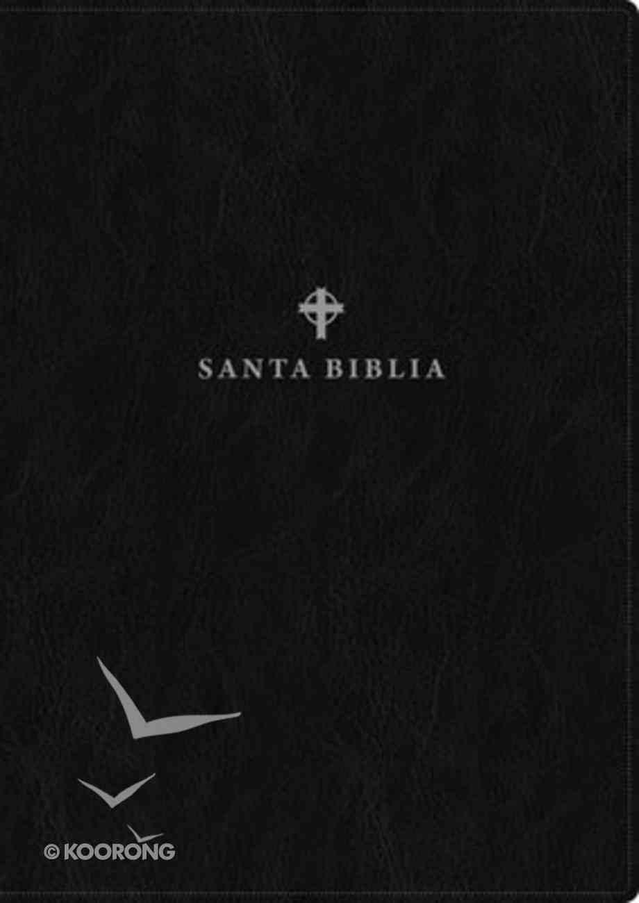 Ntv Santa Biblia Edicion De Referencia Ultrafina Letra Grande Negro (Red Letter Edition) Imitation Leather