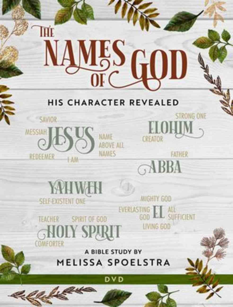 Names of God - Women's Bible Study (Dvd Ntsc) DVD