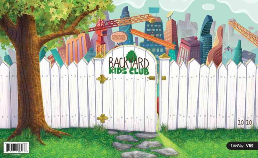 Vbs 2020 Concrete and Cranes: Backyard Kids Club Kit Pack