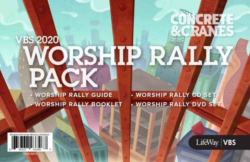 Vbs 2020 Concrete and Cranes: Worship Rally Pack Pack