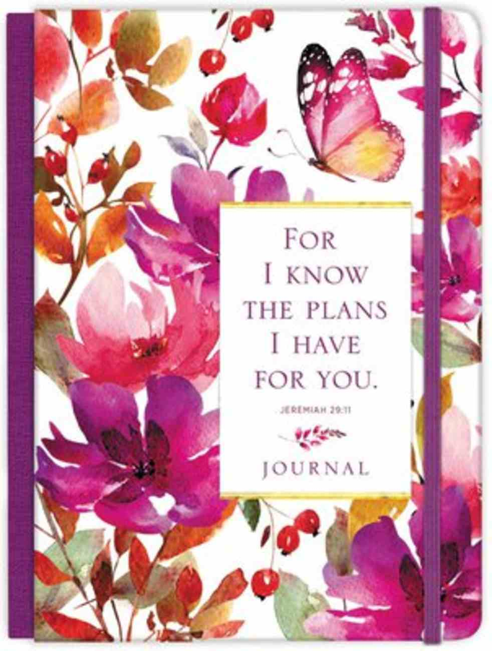 Journal: For I Know the Plans Hardback