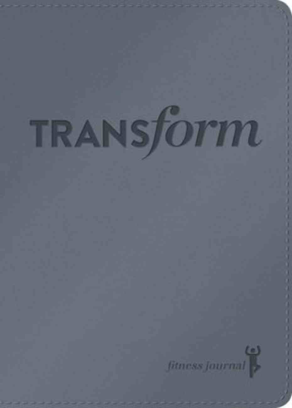 Journal: Transform Fitness Journal Imitation Leather