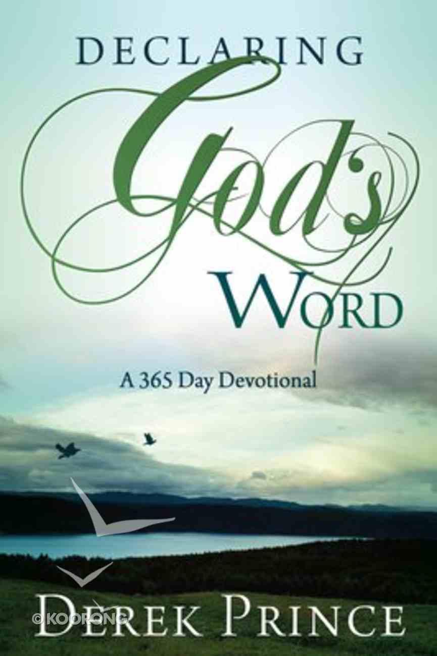Declaring God's Word Paperback