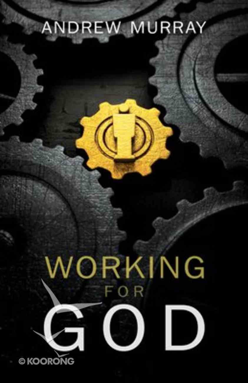 Working For God Paperback