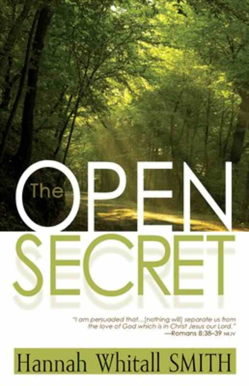 The Open Secret Paperback