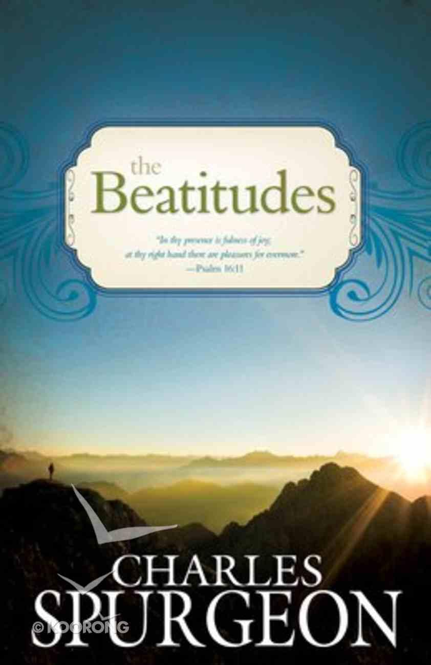 The Beatitudes Paperback