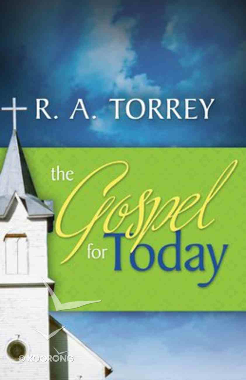 Gospel For Today Paperback