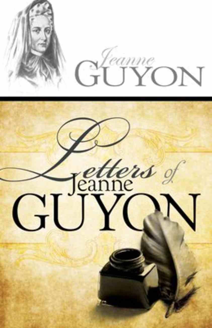 Letters of Jeanne Guyon Paperback