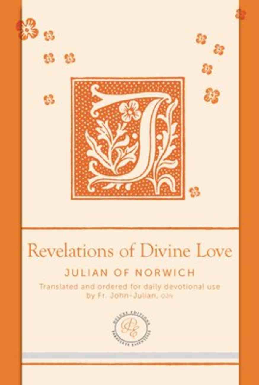 Revelations of Divine Love (Paraclete Essentials Series) Imitation Leather