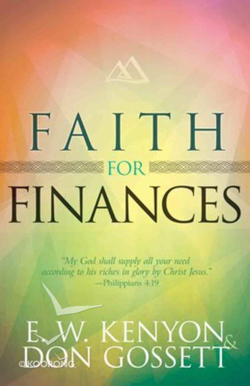 Faith For Finances Paperback