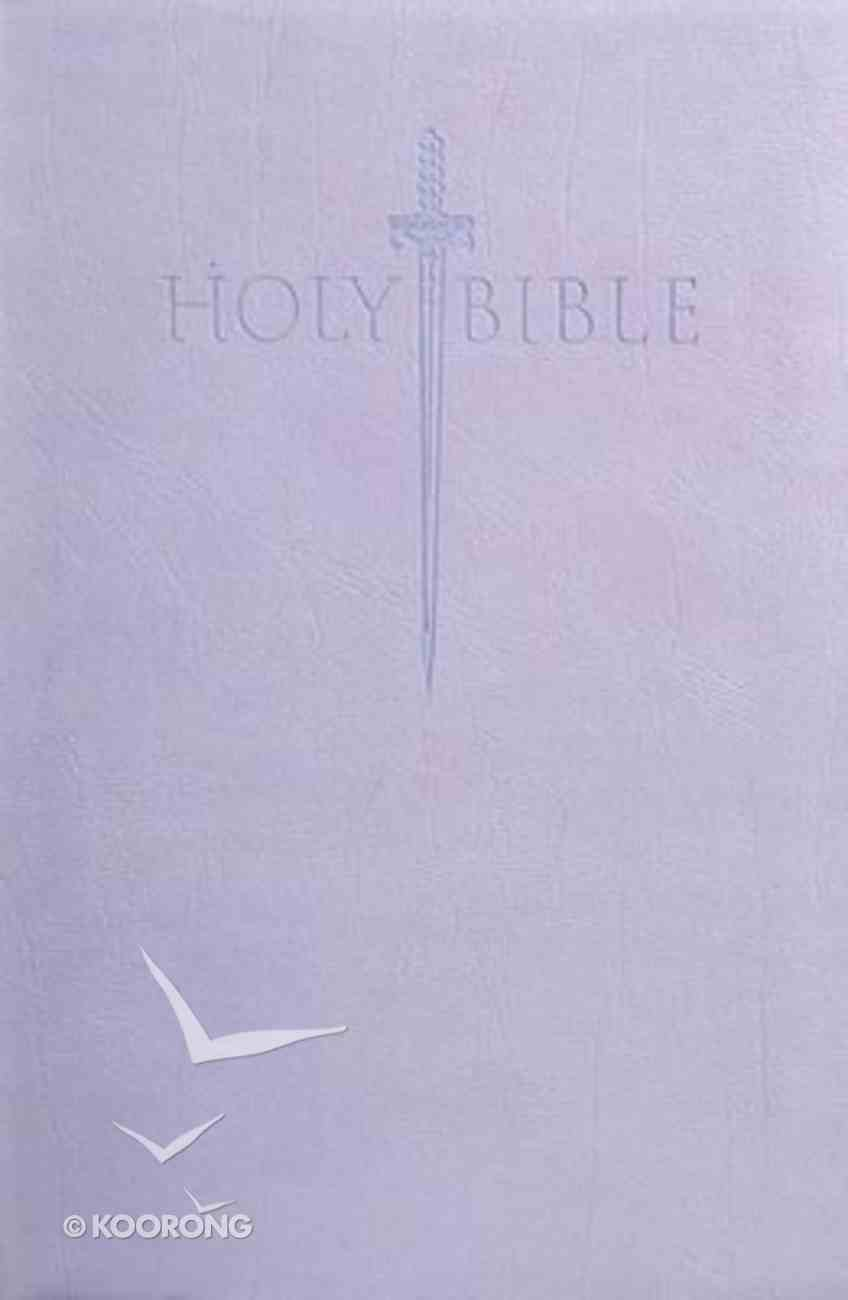 Kjver Sword Value Thinline Bible Personal Size Lavender (Red Letter Edition) Imitation Leather