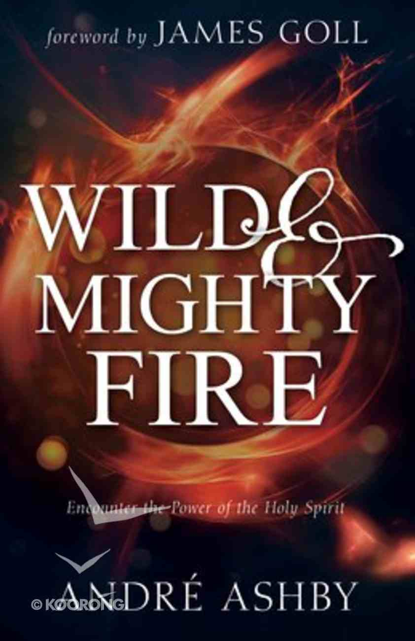 Wild and Mighty Fire: Encounter the Power of the Holy Spirit Paperback