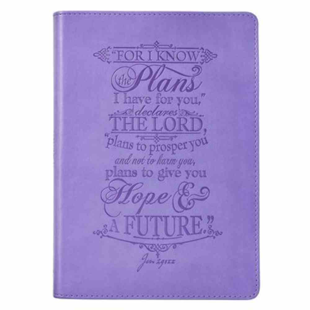 Journal: I Know the Plans, Purple Imitation Leather