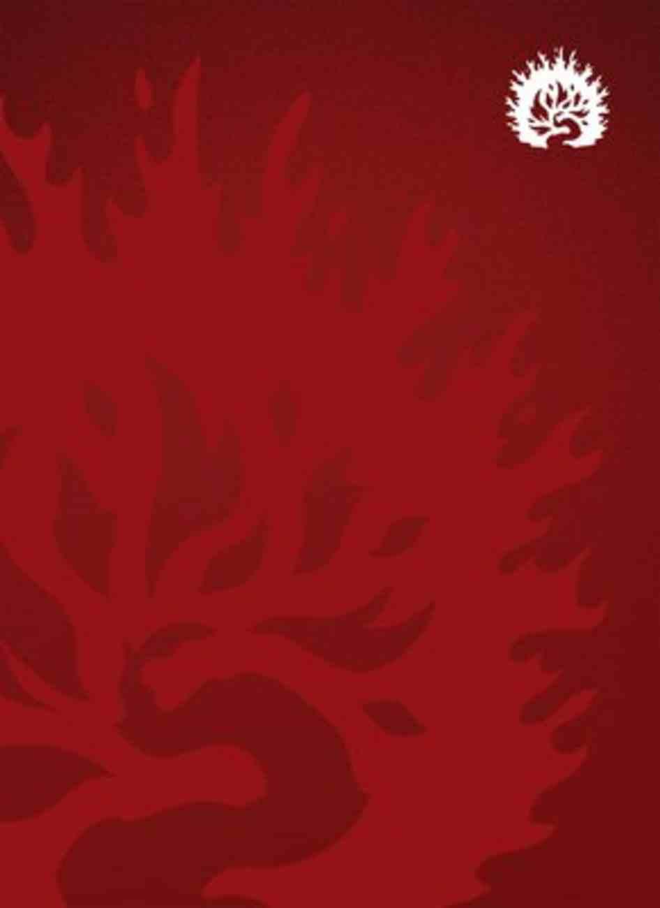 Lbla Biblia De Estudio De La Reforma Crimson Hardback