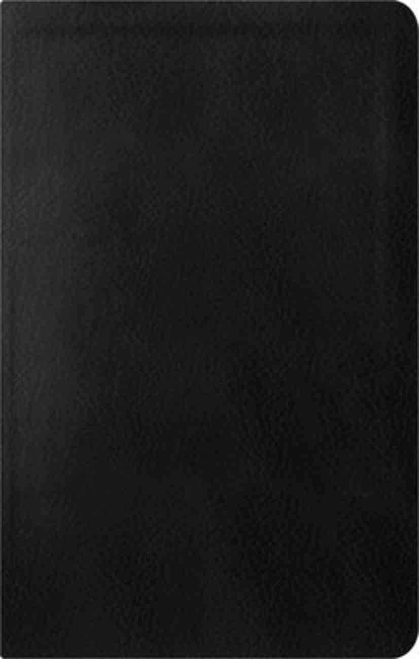 ESV Reformation Study Bible Condensed Edition Black Genuine Leather