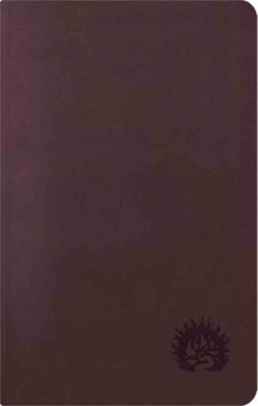 ESV Reformation Study Bible Condensed Edition Plum Imitation Leather