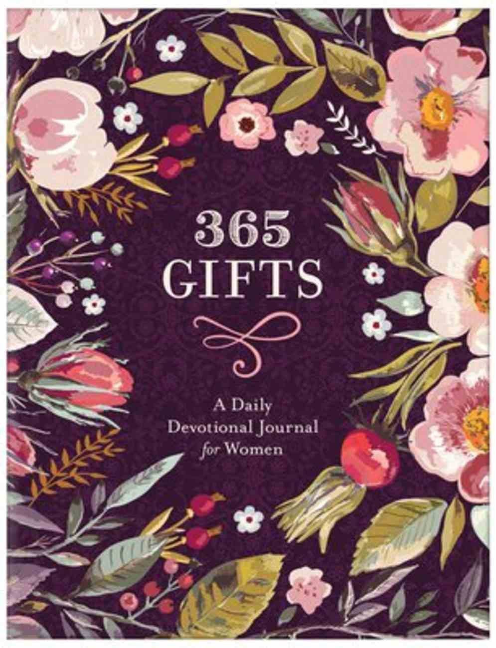 365 Gifts: A Daily Devotional Journal For Women Paperback