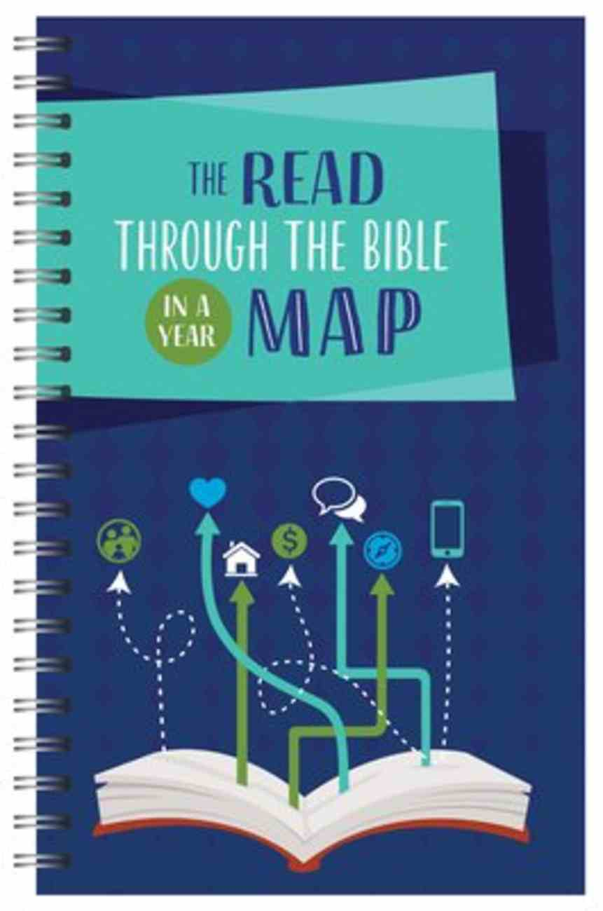 The Read Through the Bible in a Year Journal (Faith Maps Series) Spiral