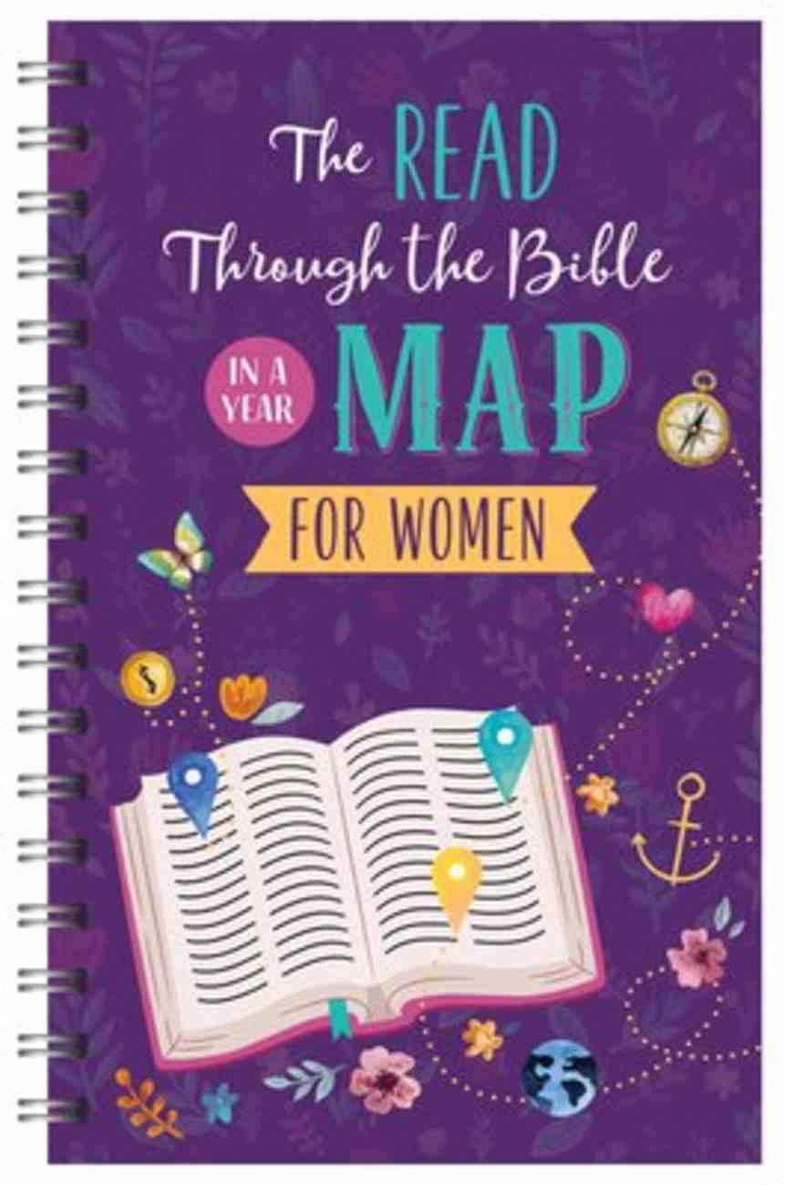 The Read Through the Bible in a Year Journal For Women (Faith Maps Series) Spiral