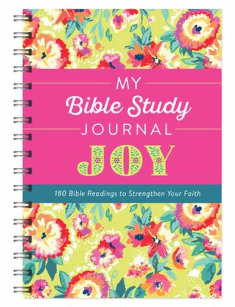My Bible Study Journal: Joy Spiral