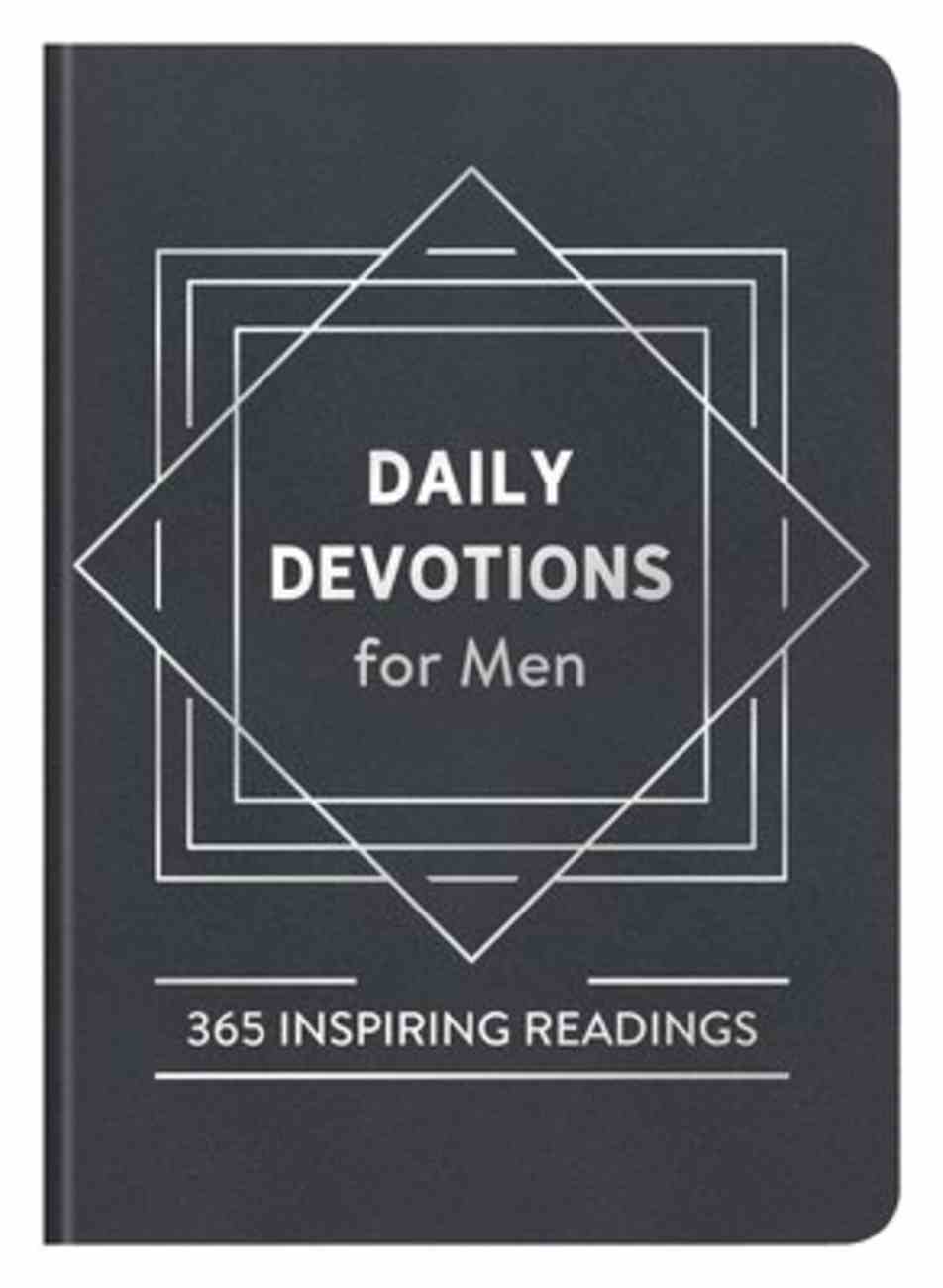 Daily Devotions For Men: 365 Inspiring Readings Imitation Leather