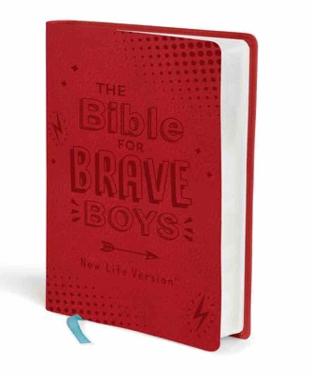 The Nlv Bible For Brave Boys (New Life Version) Paperback