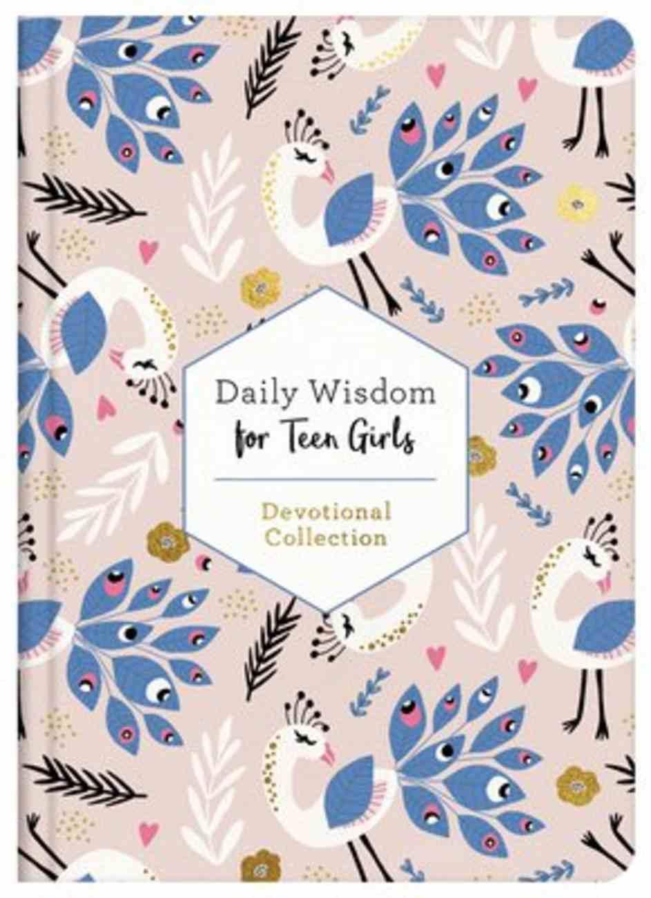 Daily Wisdom For Teen Girls Hardback