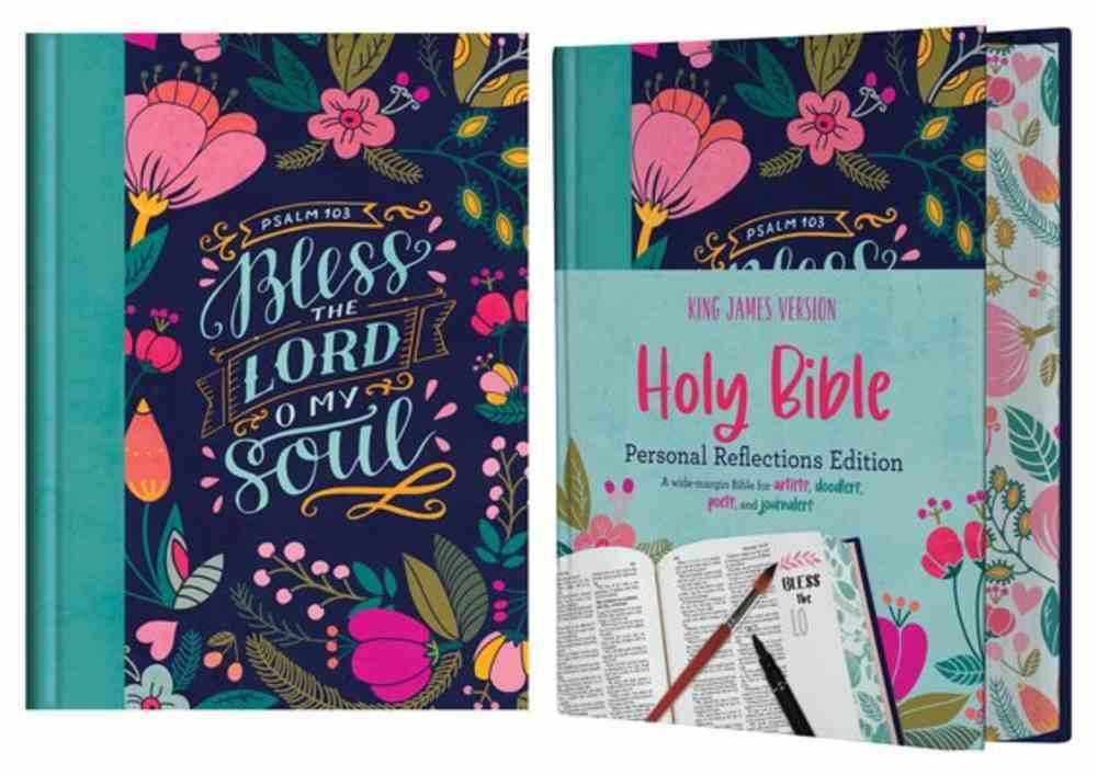 KJV Personal Reflections Bible (Red Letter Edition) Hardback