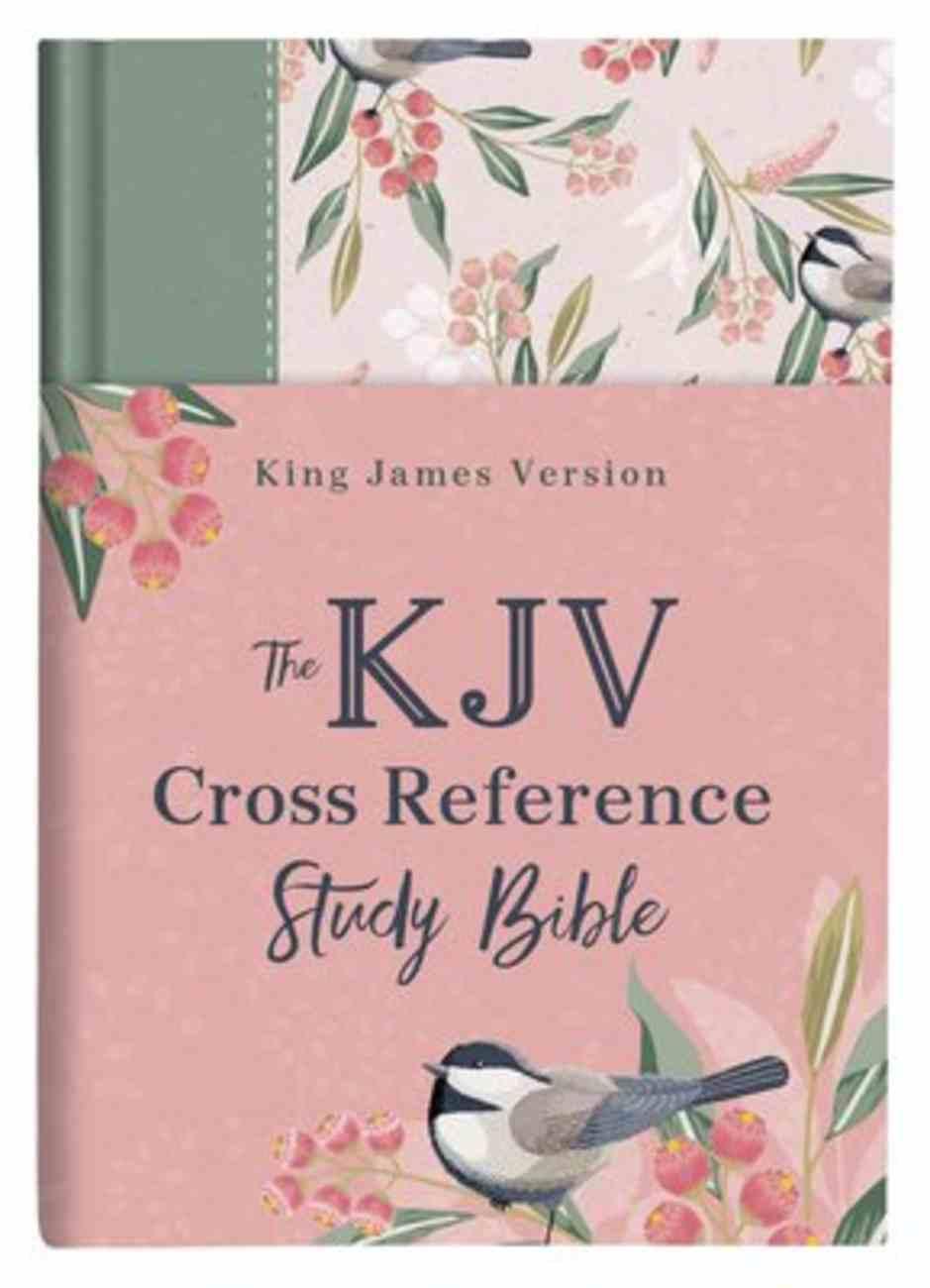 KJV Cross Reference Study Bible Women's Edition Sage Songbird (Red Letter Edition) Hardback