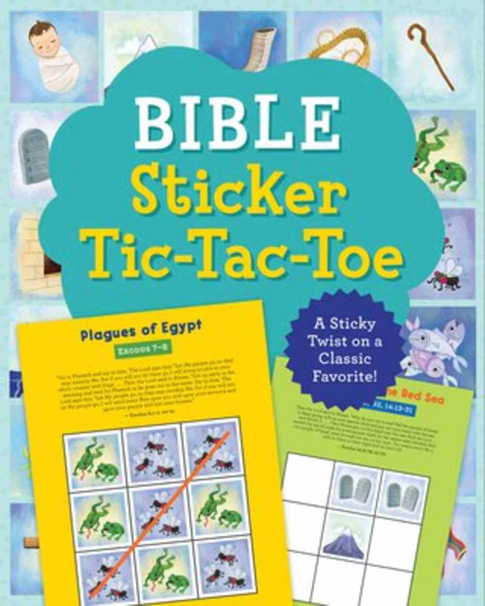 Bible Sticker Tic-Tac-Toe: A Sticky Twist on a Classic Favorite! Paperback