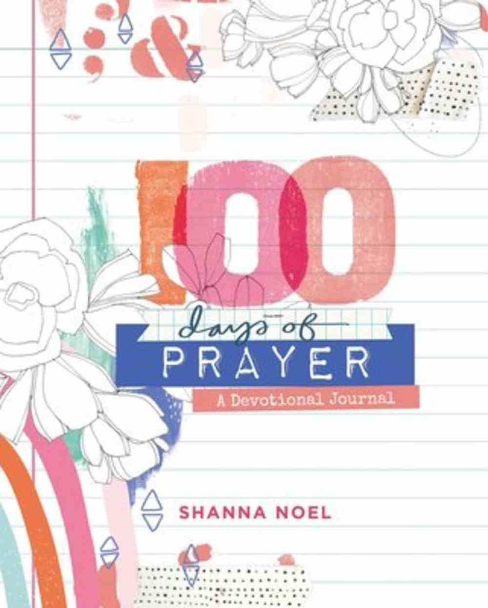 100 Days of Prayer: A Devotional Journal Flexi Back