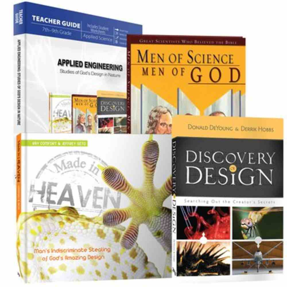 Applied Engineering: Studies of God's Design in Nature (4 Volume Set) Hardback