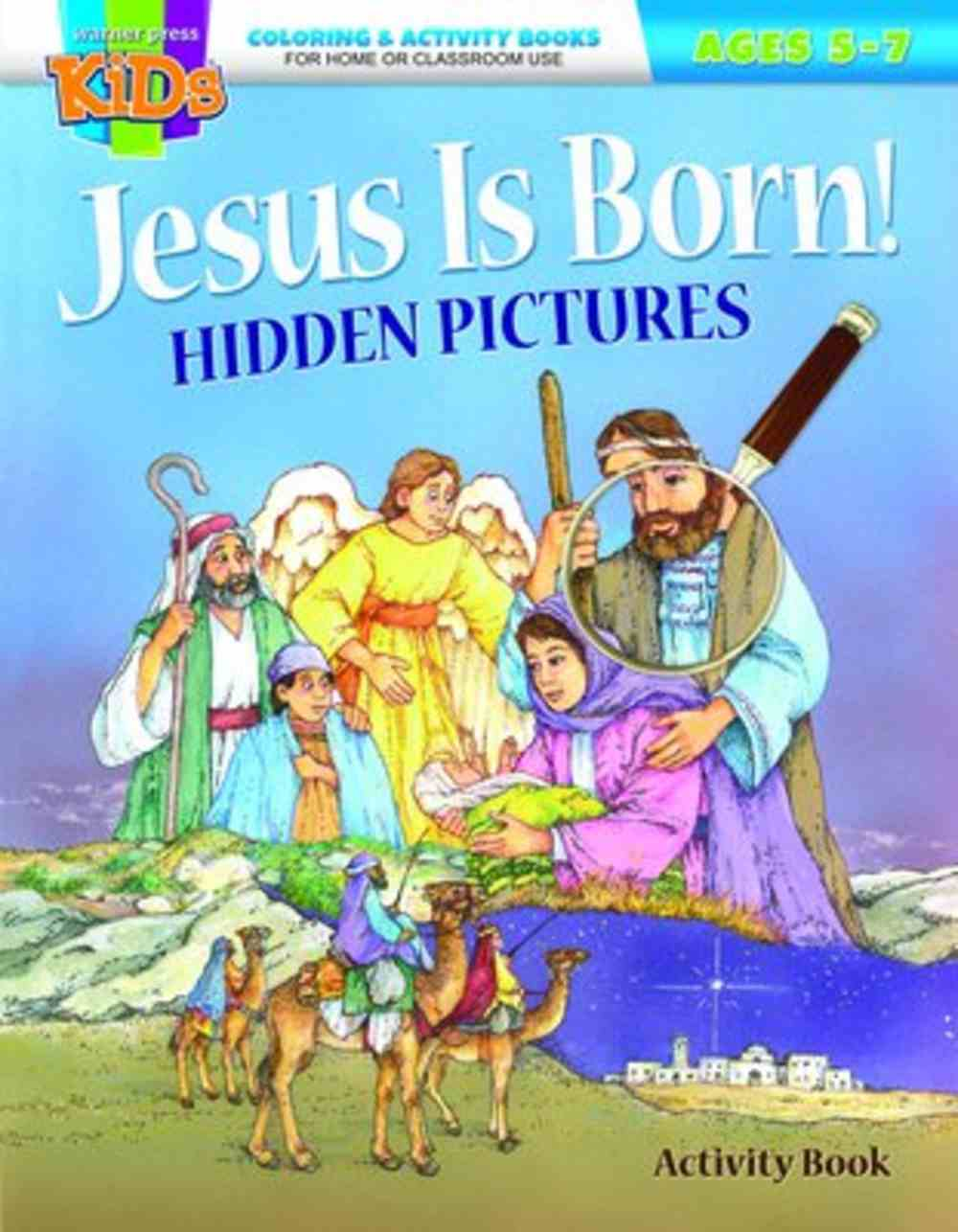 Jesus is Born! Hidden Pictures (Ages 5-7 Reproducible) (Warner Press Colouring & Activity Books Series) Paperback