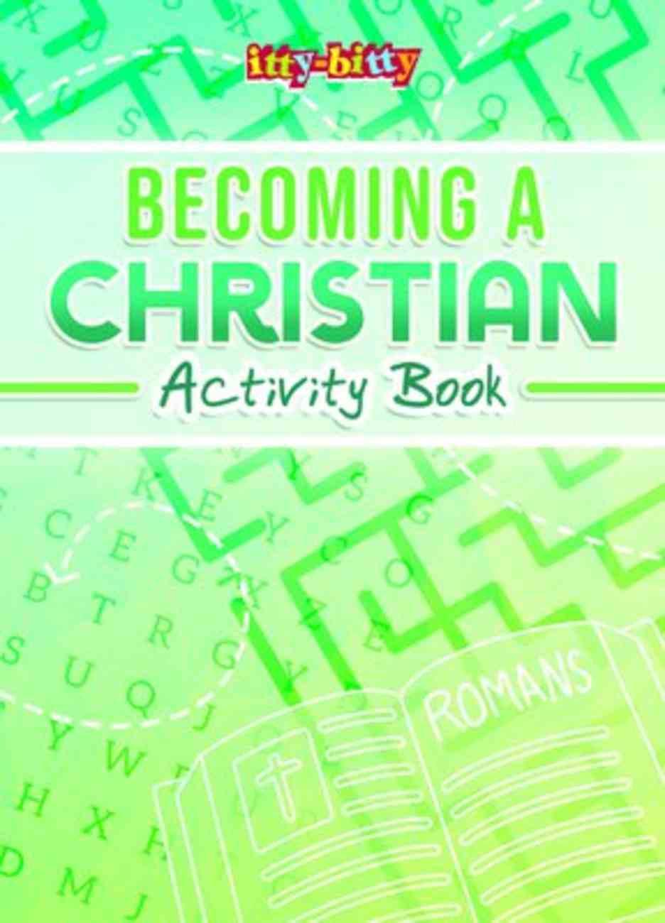 Becoming a Christian (NIV) (Itty Bitty Bible Series) Paperback