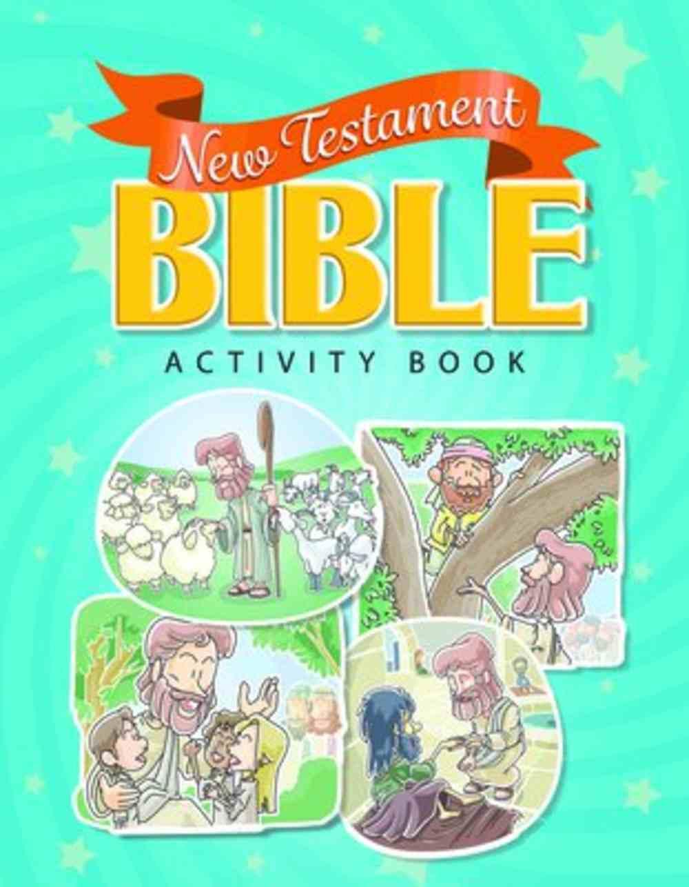 New Testament Bible Activity Book (Reproducible) Paperback