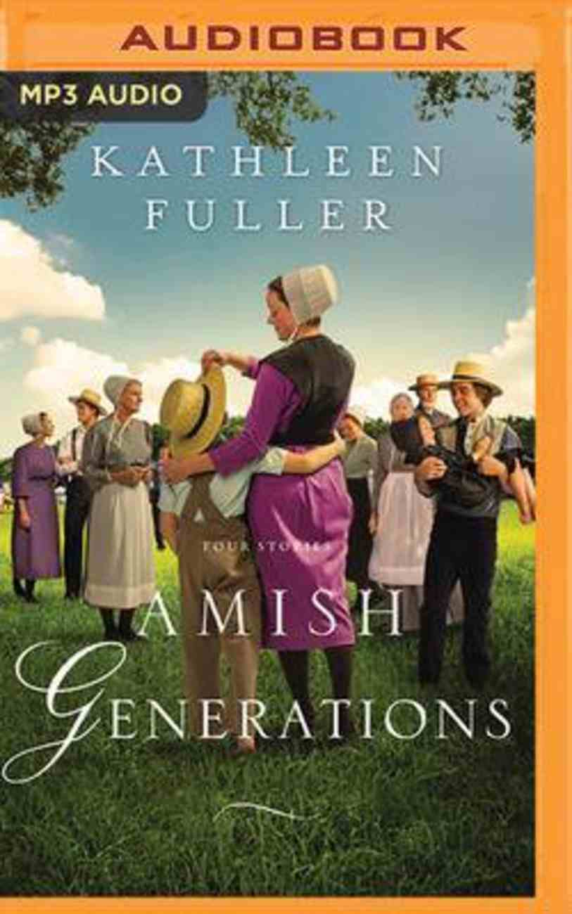 Amish Generations: Four Stories (Mp3) CD