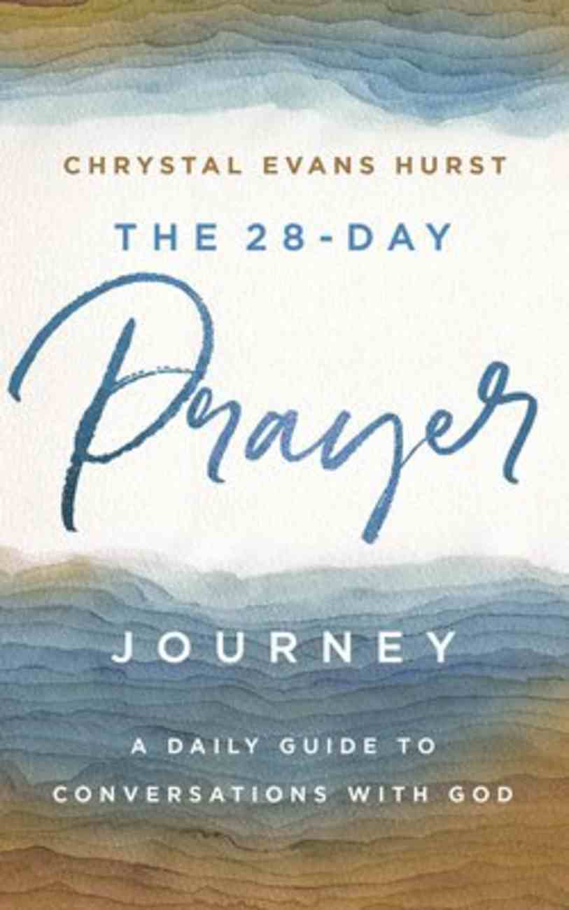 The 28-Day Prayer Journey: A Daily Guide to Conversations With God (7 Cds) CD
